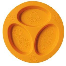 Cadeau bij minimale besteding van €35: OOGAA 3 vaks bord (orange)