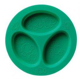 Cadeau bij minimale besteding van €35: OOGAA 3 vaks bord (sea green)