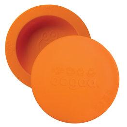 Cadeau bij minimale besteding van €35: OOGAA maaltijdkom met deksel (orange)