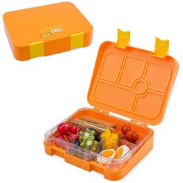 Schmatzfatz lunchbox 6 vakken - Oranje