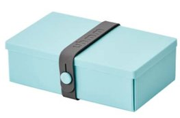 Uhmm Box rechthoekig Mint - Dark Grey