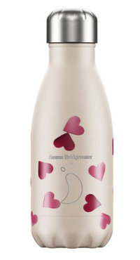 Chilly's geïsoleerde drinkfles 260ml Pink Hearts