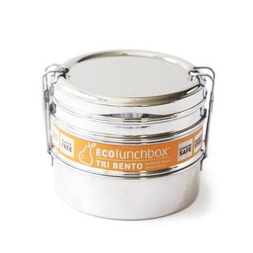 ECOlunchbox Tri Bento, 3-delig RVS