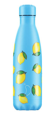 Chilly's geïsoleerde drinkfles 500ml Lemon