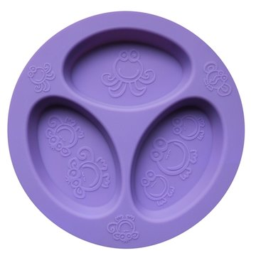 Cadeau bij minimale besteding van €35: OOGAA 3 vaks bord (purple)