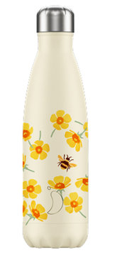 Chilly's geïsoleerde drinkfles 500ml Buttercup