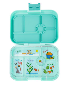 Yumbox original 6-vakken (Surf Green)