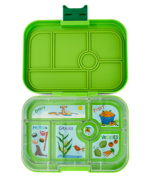 Yumbox original 6-vakken (Avocado Green)