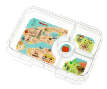 Yumbox Tapas Tray 4 vakken (New York City)