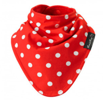Mum2Mum Fashion Bandana Wonder Slab Dots Red