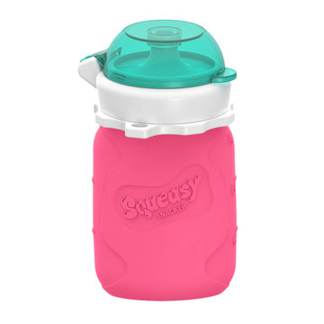Squeasy Gear Knijpfles Roze 104 ml