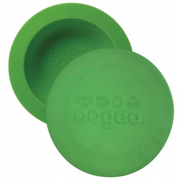 OOGAA maaltijdkom met deksel (groen)