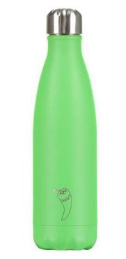 Chilly's geïsoleerde drinkfles 500ml Neon Green