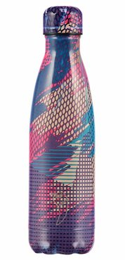 Chilly's geïsoleerde drinkfles 500ml Abstract Purple