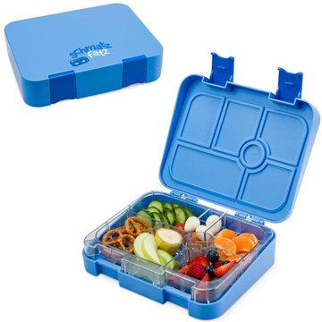 Schmatzfatz lunchbox 6 vakken - Blauw