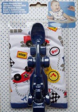 Cadeauset met slab en blauwe racewagen