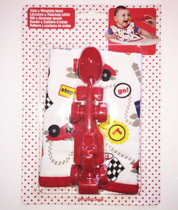 Cadeauset met slab en rode racewagen