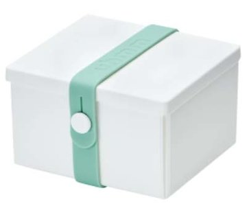 Uhmm Box vierkant White - Mint