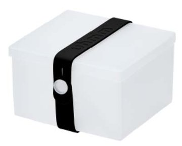 Uhmm Box vierkant Transparant - Black