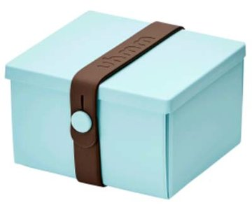 Uhmm Box vierkant Mint - Brown