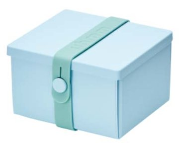 Uhmm Box vierkant Light Blue - Mint