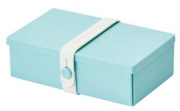 Uhmm Box rechthoekig Mint - White