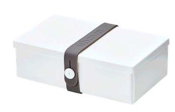 Uhmm Box rechthoekig White - Grey