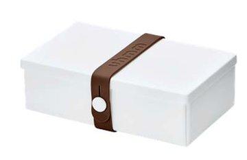Uhmm Box rechthoekig White - Brown