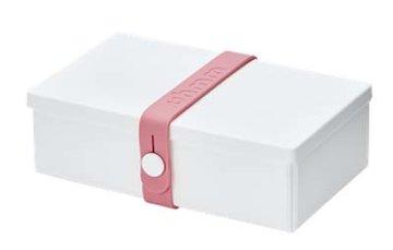 Uhmm Box rechthoekig White - Pink