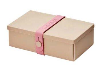 Uhmm Box rechthoekig Mocca - Pink