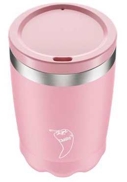 Chilly's Coffee Cup 340ml Pastel Pink