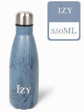 IZY fles Design Blue 350 ml.