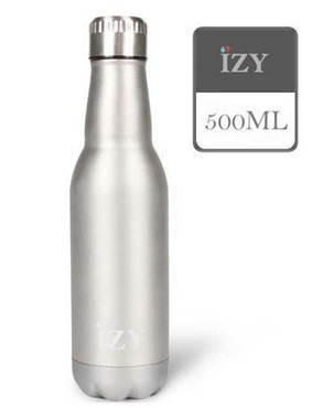 IZY fles Exclusive Silver 500 ml.