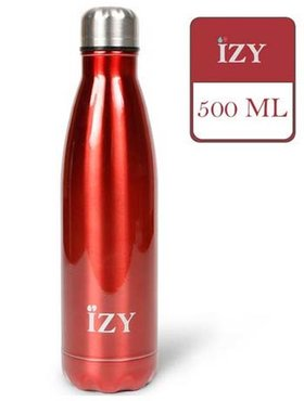 IZY fles Atlas Red 500 ml.