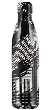 Chilly's geïsoleerde drinkfles GROOT (750ml) Abstract Black