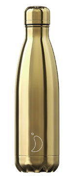 Chilly's geïsoleerde drinkfles 500ml Gold