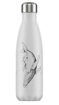 Chilly's geïsoleerde drinkfles 500ml Whale