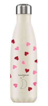 Chilly's geïsoleerde drinkfles 500ml Pink Hearts