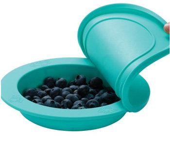 Cadeau bij minimale besteding van €35: OOGAA maaltijdkom met deksel (jewel blue)