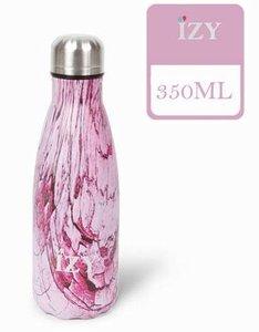 IZY fles Design Pink 350 ml.